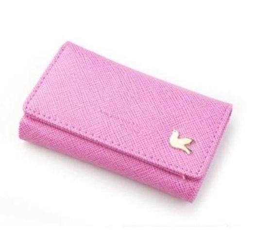 "Ключница ""Pigeon Key Wallet"" - Pink"