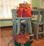 "Красивый женский рюкзак из брезента ""Holiday Backpack"" - Orange-red"