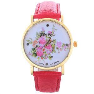 "Часы Geneva ""Rose Bouquet"" - Bright Pink"