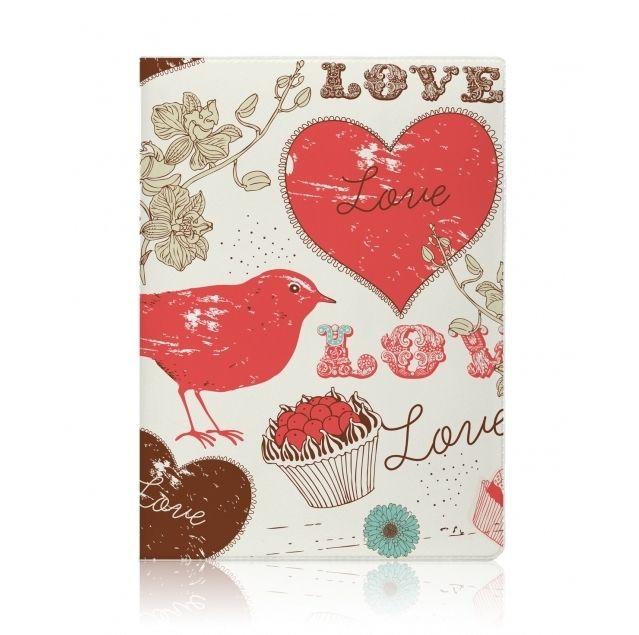 """Обложка для паспорта Miusli """"Sweet Love"""""""
