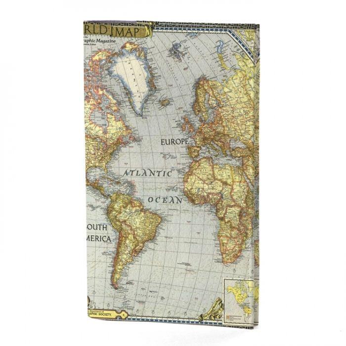 """Портмоне для документов """"World Map"""""""