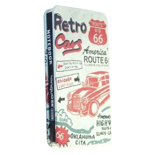 "Креативбук ""Colors Route 66"" - Retro Cars"