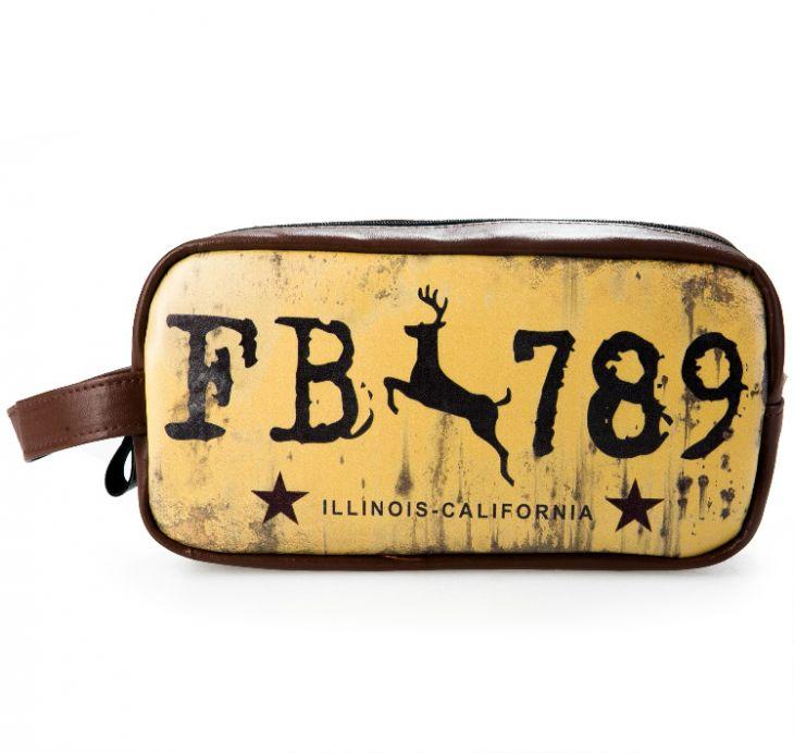 Косметичка «Historic Route 66» - Yellow