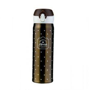 Вакуумная термокружка «Lifestyle» - Bronze