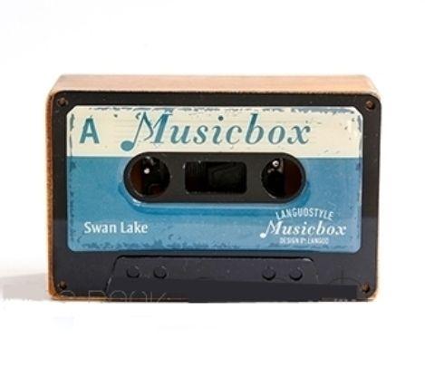 Музыкальная коробочка Retro Cassette «Swan Lake» - Blue