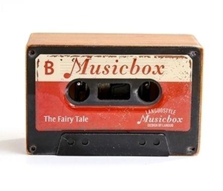 Музыкальная коробочка Retro Cassette «Fairy Tale» - Red