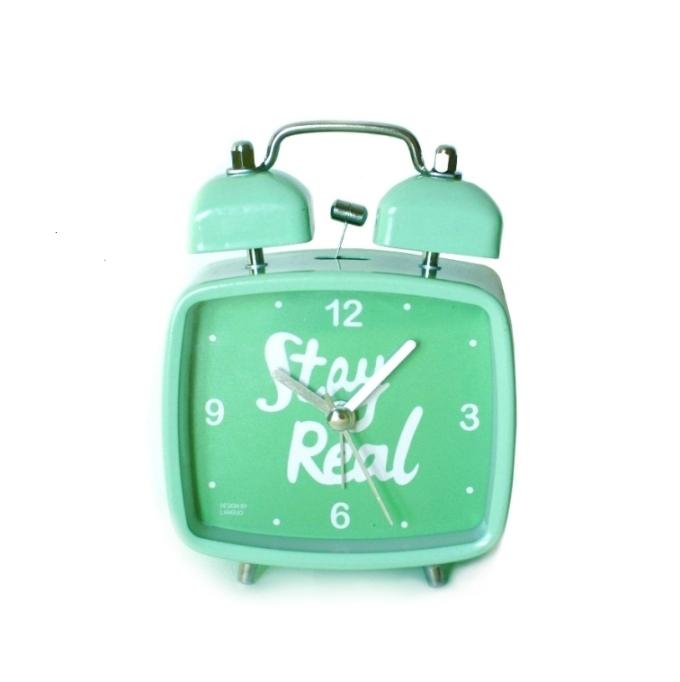 Настольный будильник «Stay Real» - Mint