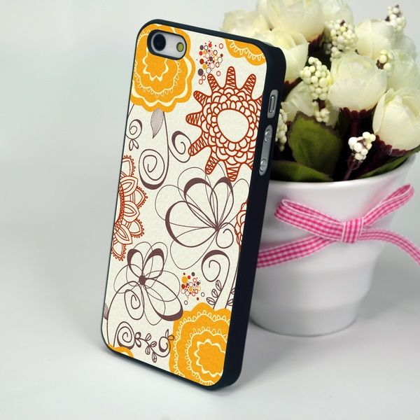 "Панель для iPhone 4, 4S ""Lace Anemone"""