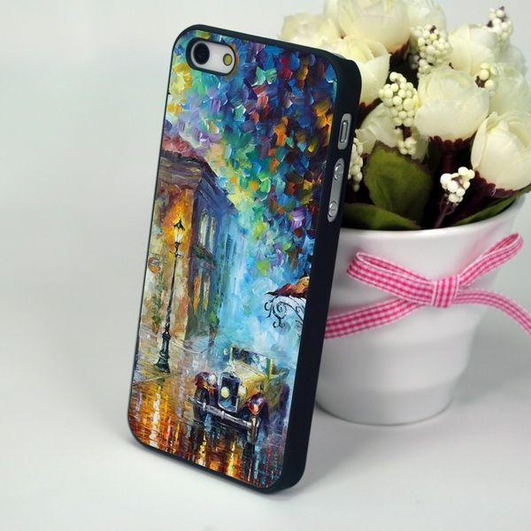 """Чехол-накладка для iPhone 4 и 4S """"Evening Avenue"""""""