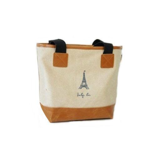 "Сумка с короткими ручками ""Vintage Time"" - Eiffel Tower"