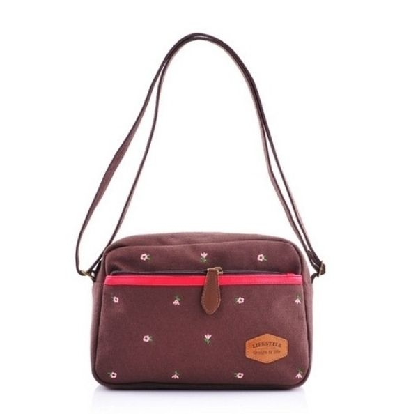 Текстильная сумка «Life Style» - Brown