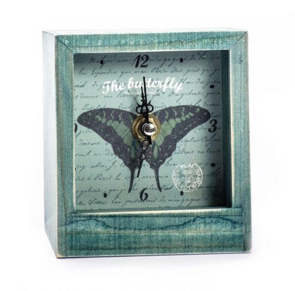 Настольные часы «Butterfly» - Black