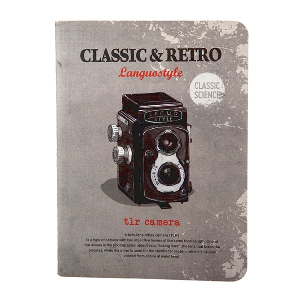 Тетрадь «Retro & Classic» - Camera