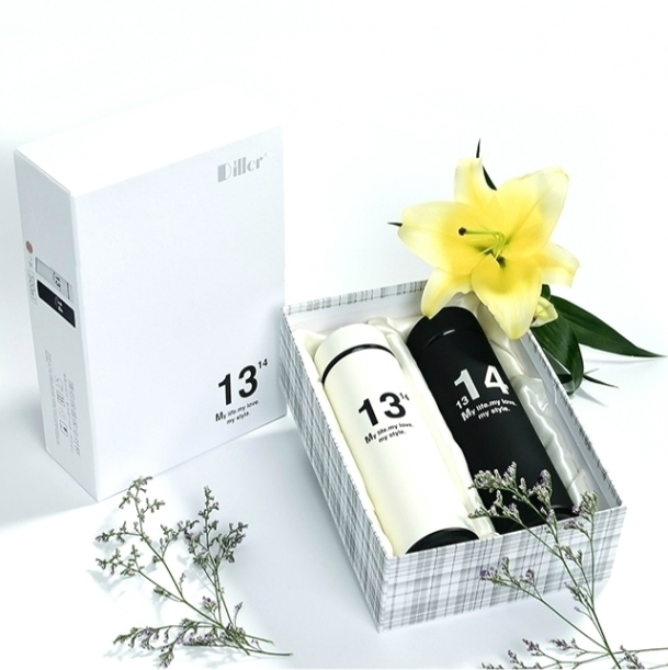 Подарочный набор из двух термокружек  «13 / 14»